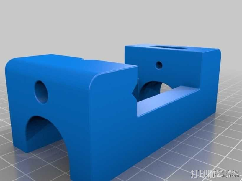 台钳 3D模型  图3