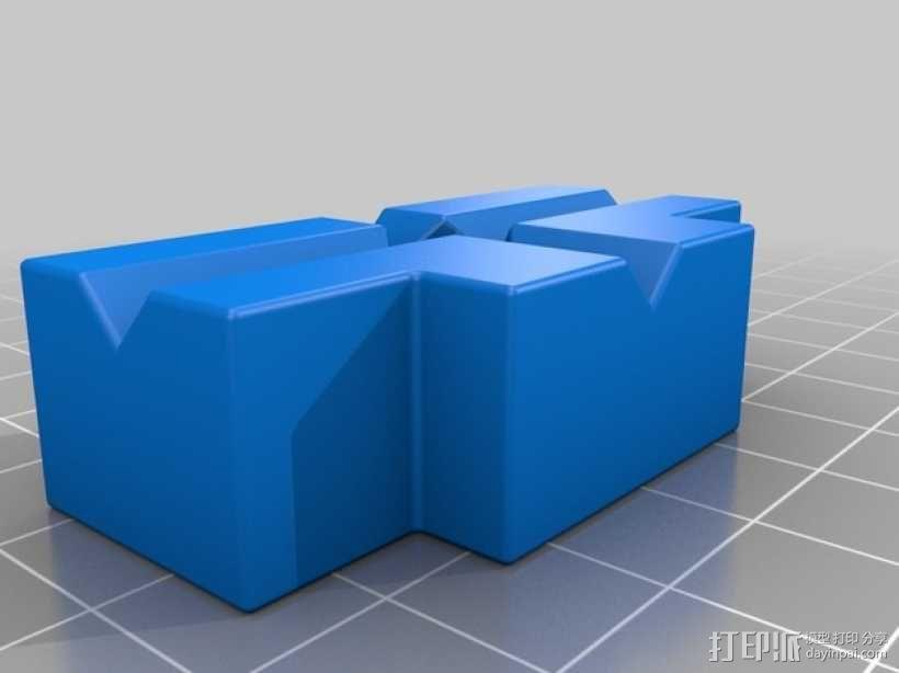 台钳 3D模型  图4