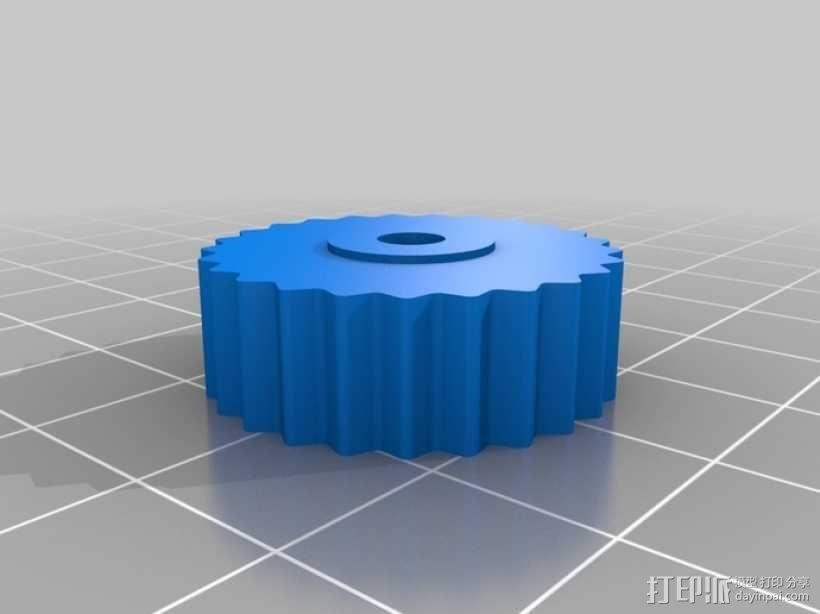 台钳 3D模型  图5