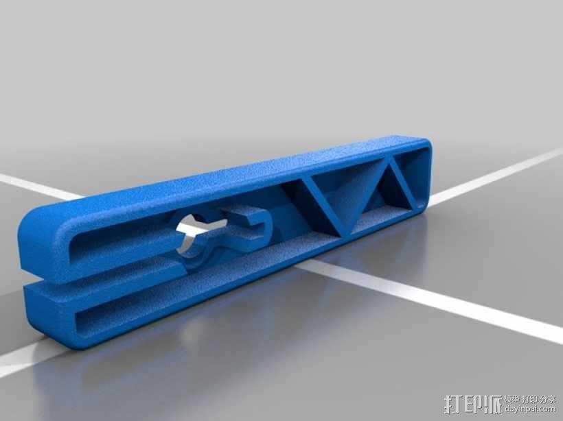 斜杆 3D模型  图2