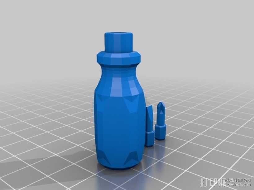 螺丝刀 3D模型  图2