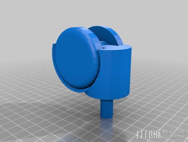 轮子 3D模型  图2