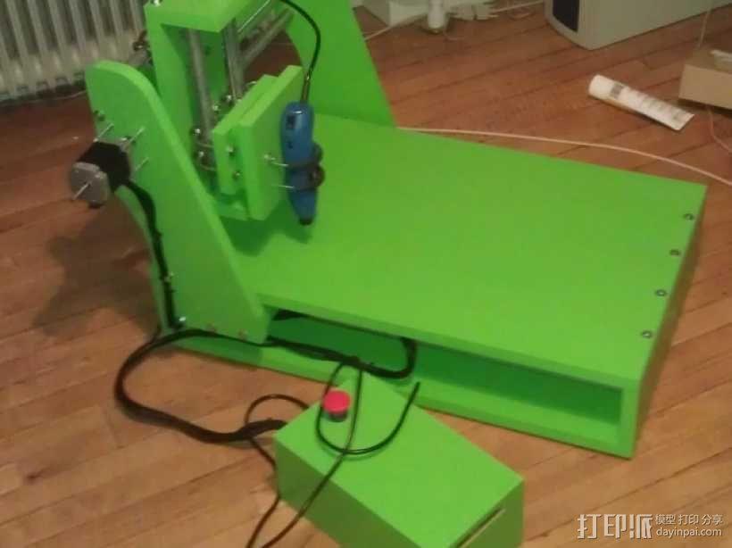 数控机床 3D模型  图1
