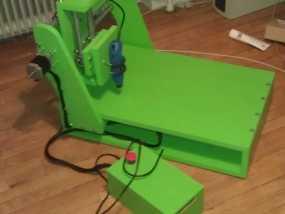 数控机床 3D模型