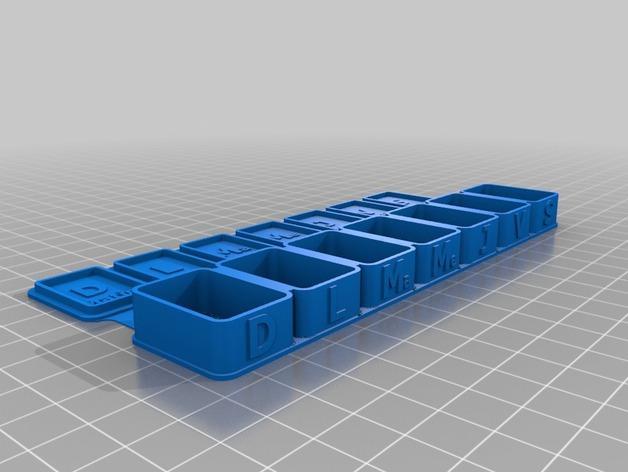 药丸盒 3D模型  图4