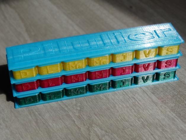 药丸盒 3D模型  图8