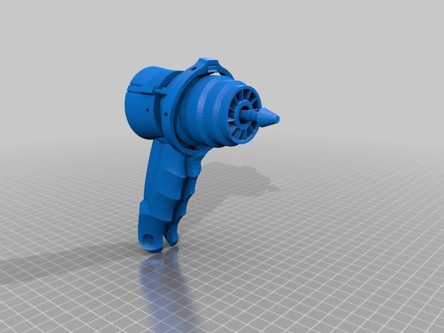 可控制转速的打孔器 3D模型  图2