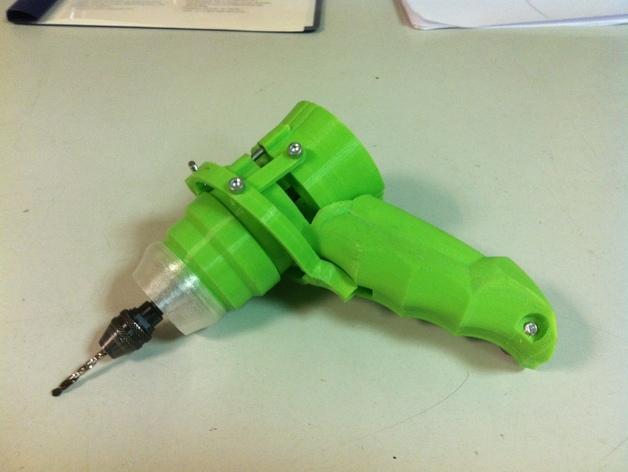 可控制转速的打孔器 3D模型  图3