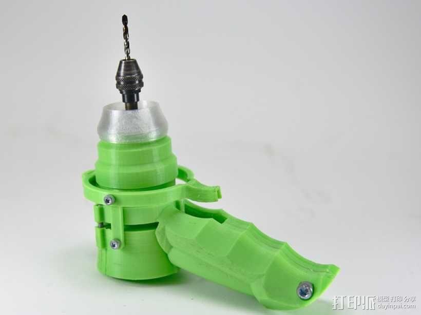 可控制转速的打孔器 3D模型  图1