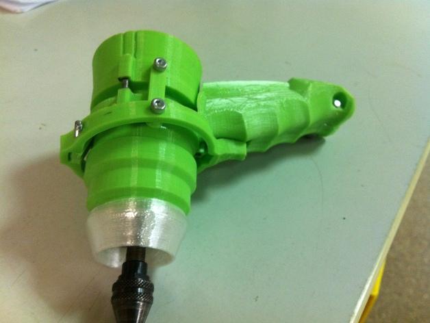 可控制转速的打孔器 3D模型  图4
