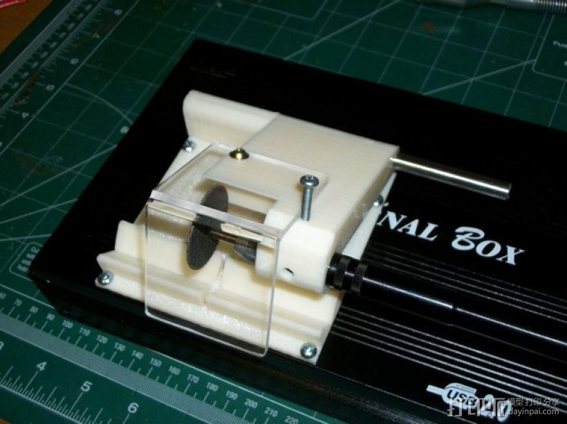 旋转电锯 3D模型  图3