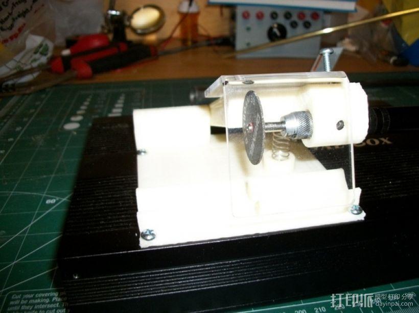 旋转电锯 3D模型  图2