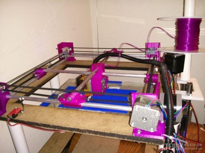 XY轻型工作台 3D模型  图1