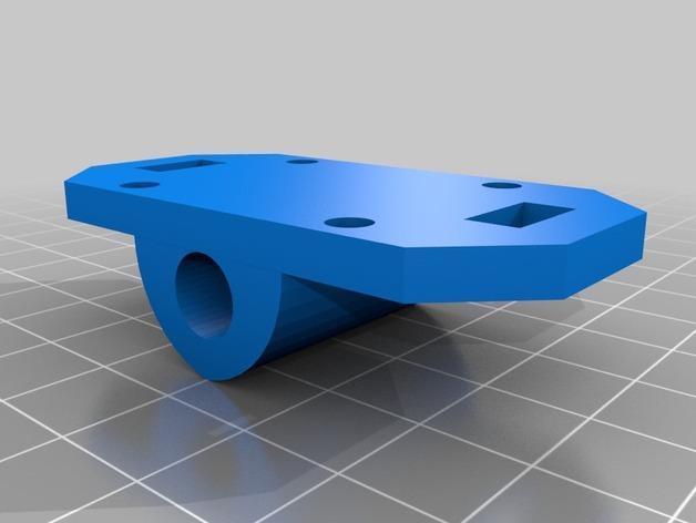 XY轻型工作台 3D模型  图2