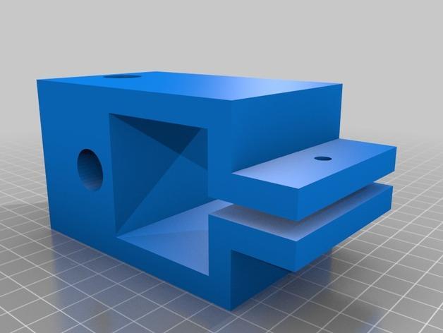 XY轻型工作台 3D模型  图5