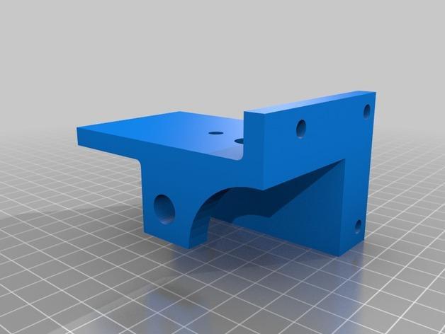 XY轻型工作台 3D模型  图4