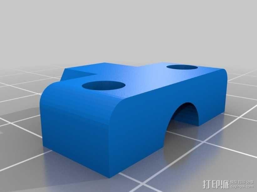 12v直流电动涡轮电机 3D模型  图8