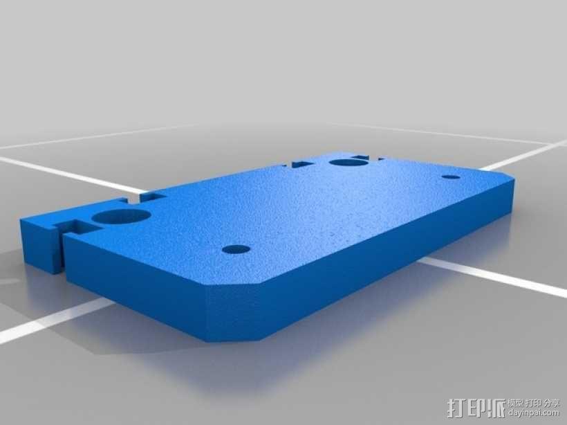 滚动台锯推进器 3D模型  图3