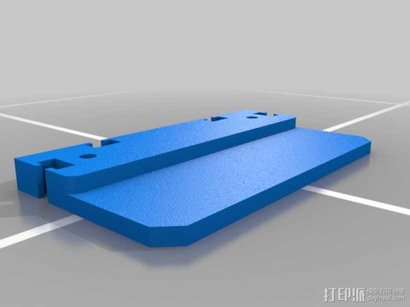 滚动台锯推进器 3D模型  图2