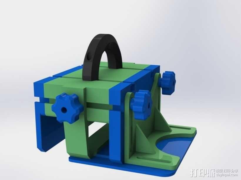 滚动台锯推进器 3D模型  图1
