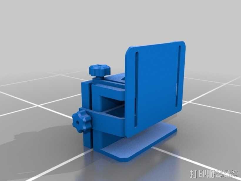 滚动台锯推进器 3D模型  图5