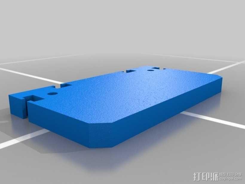 滚动台锯推进器 3D模型  图6