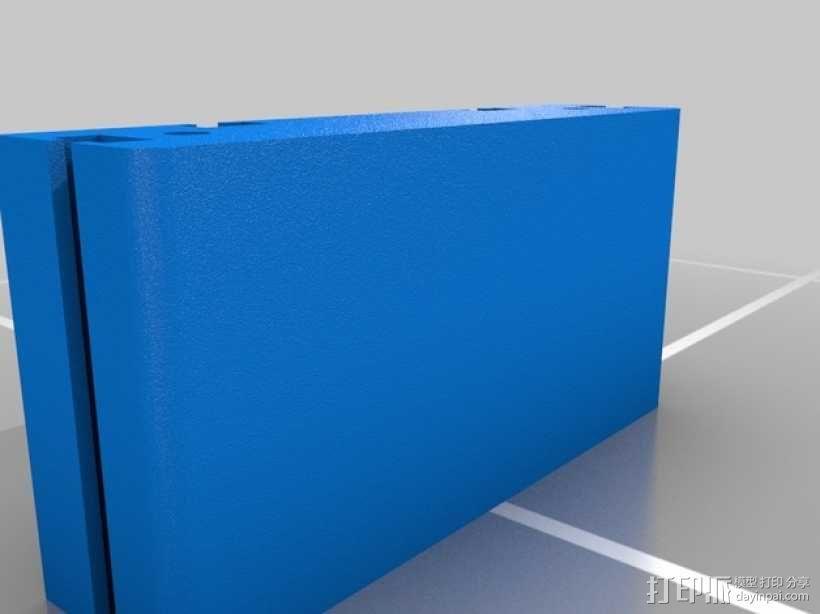 滚动台锯推进器 3D模型  图4