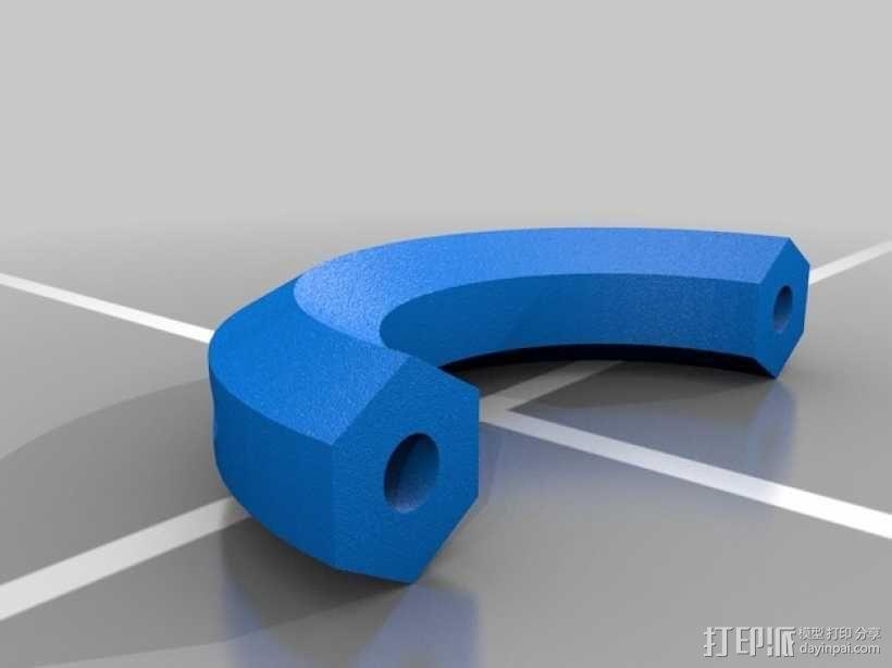 滚动台锯推进器 3D模型  图11