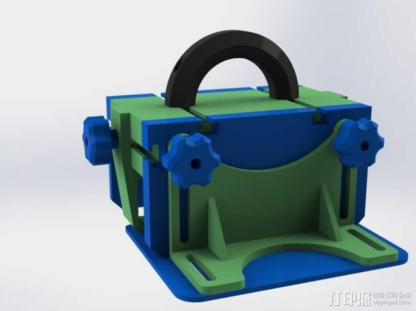 滚动台锯推进器 3D模型  图13