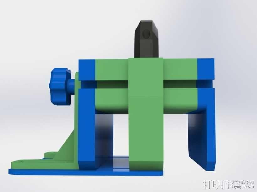 滚动台锯推进器 3D模型  图14
