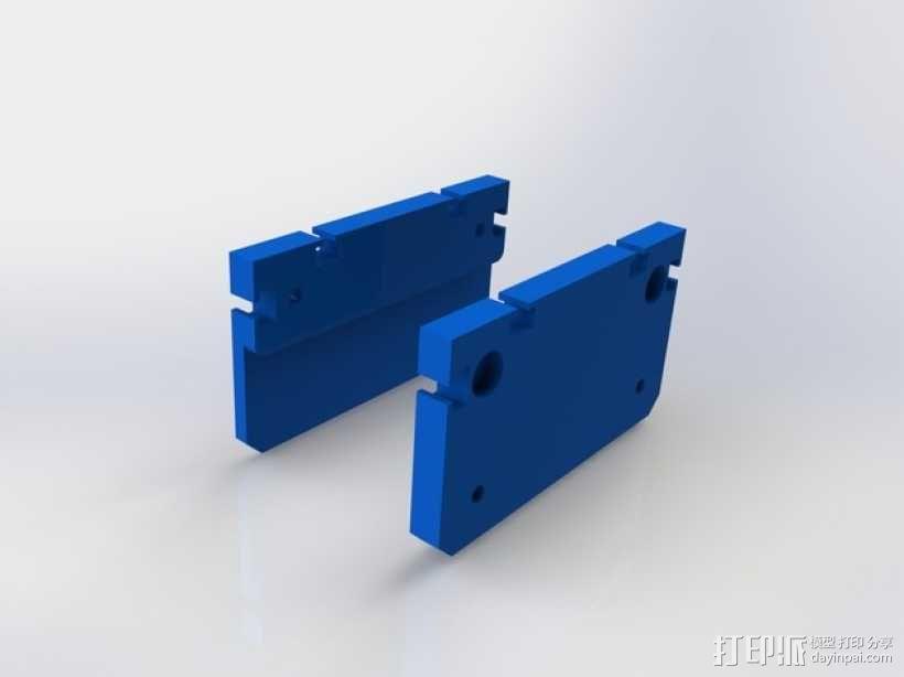 滚动台锯推进器 3D模型  图15