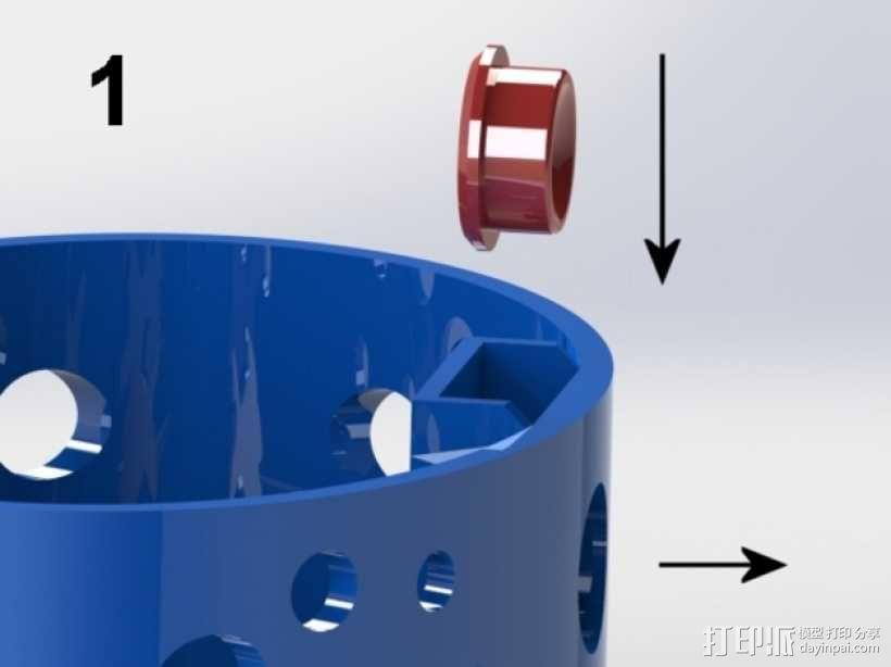 椭圆盒子 3D模型  图5