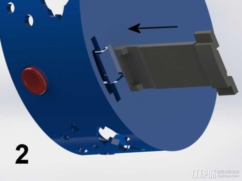 椭圆盒子 3D模型  图6