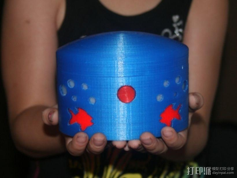 椭圆盒子 3D模型  图4