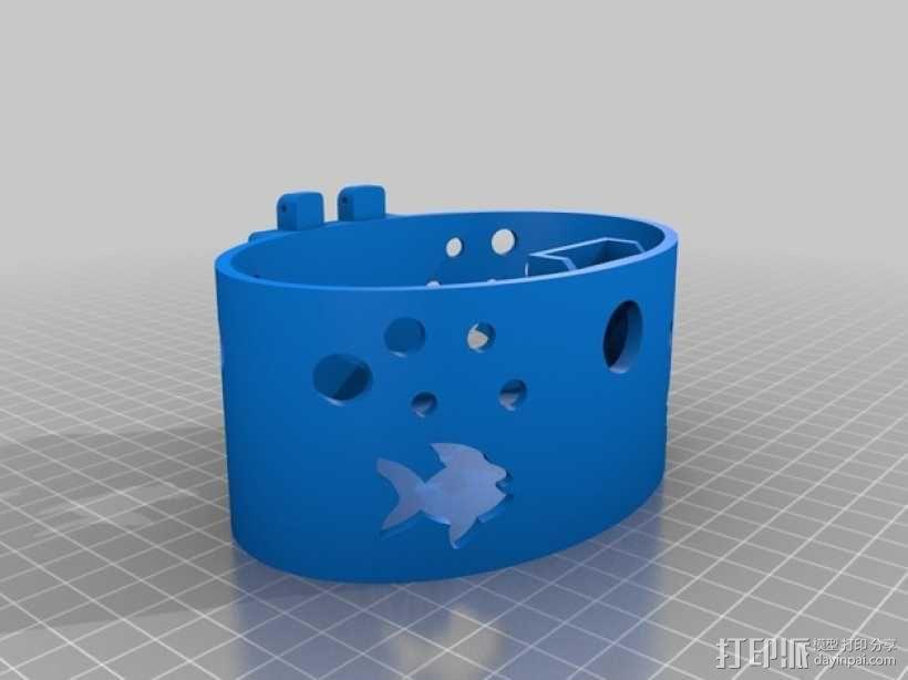 椭圆盒子 3D模型  图8