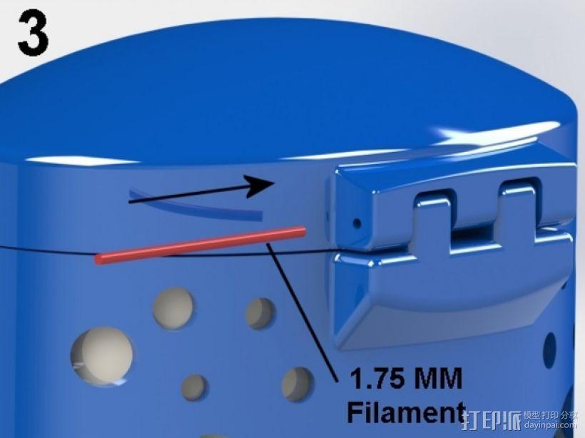 椭圆盒子 3D模型  图7