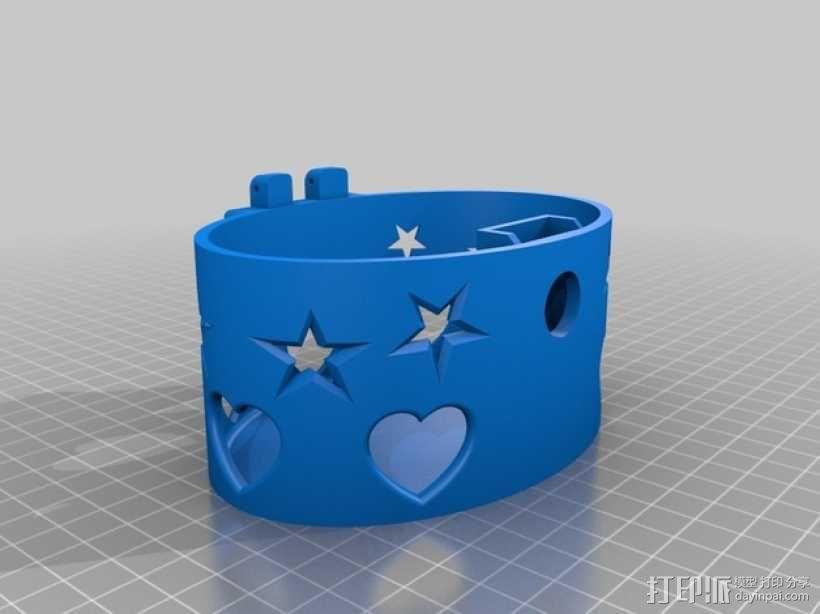 椭圆盒子 3D模型  图13