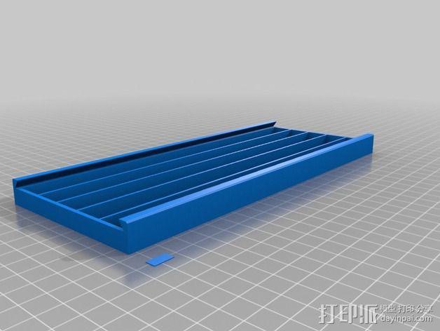 文件盒 3D模型  图3