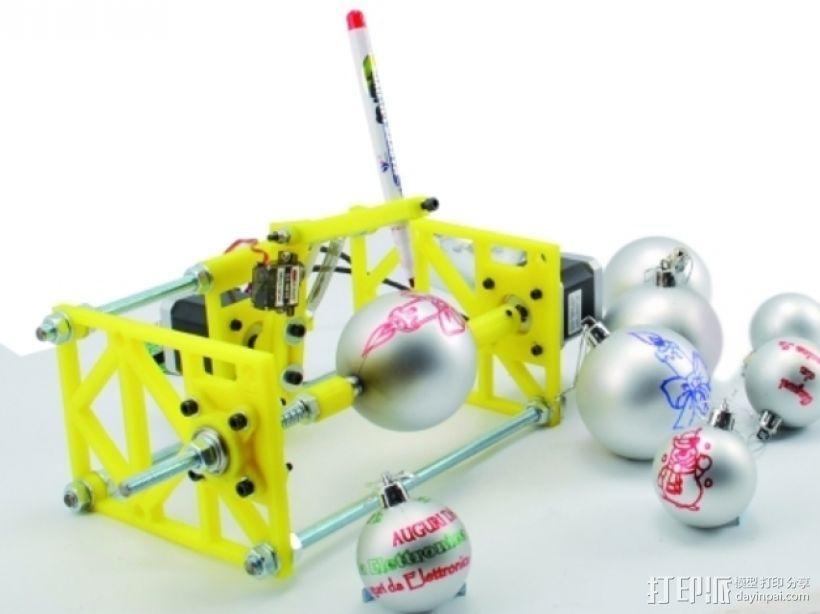 SphereBot画球机 3D模型  图1