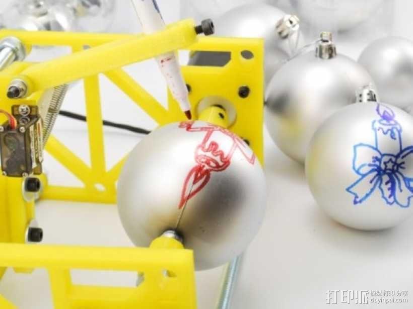 SphereBot画球机 3D模型  图6