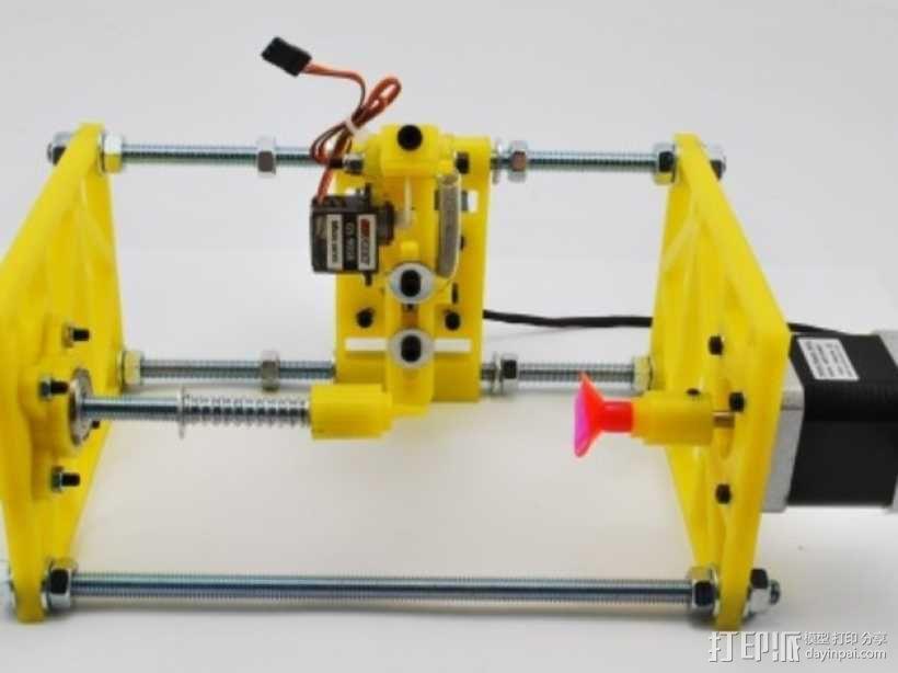 SphereBot画球机 3D模型  图5