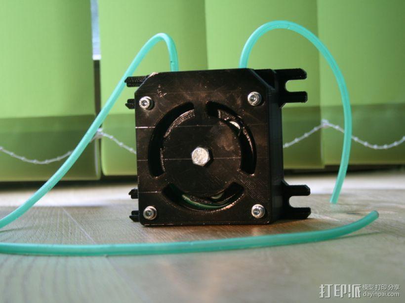 蠕动泵/软管泵 3D模型  图1
