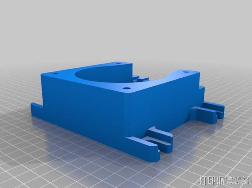 蠕动泵/软管泵 3D模型  图2