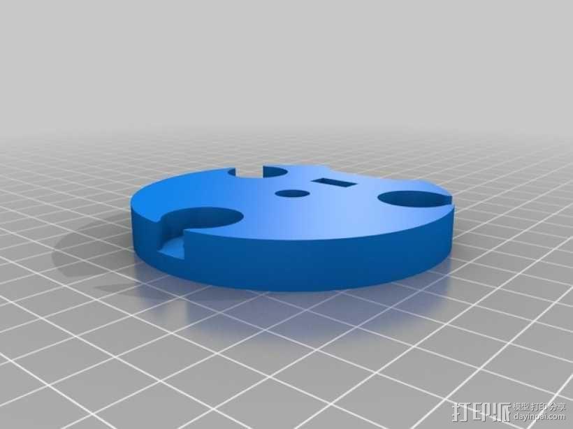 蠕动泵/软管泵 3D模型  图3