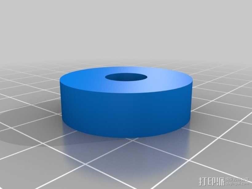 蠕动泵/软管泵 3D模型  图4