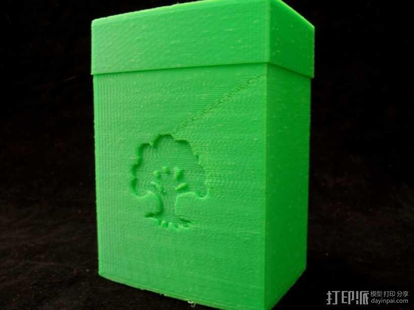 万智牌MTG卡片收纳盒 3D模型  图3
