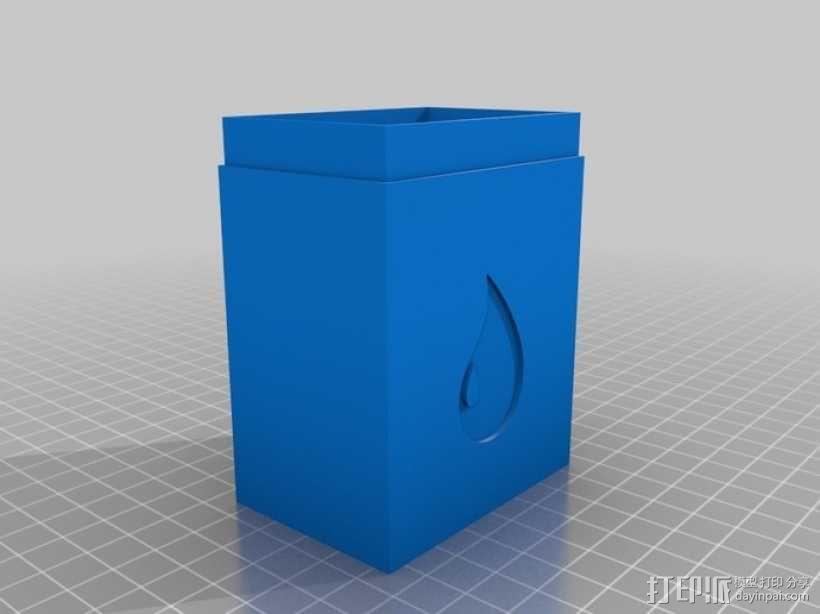 万智牌MTG卡片收纳盒 3D模型  图7