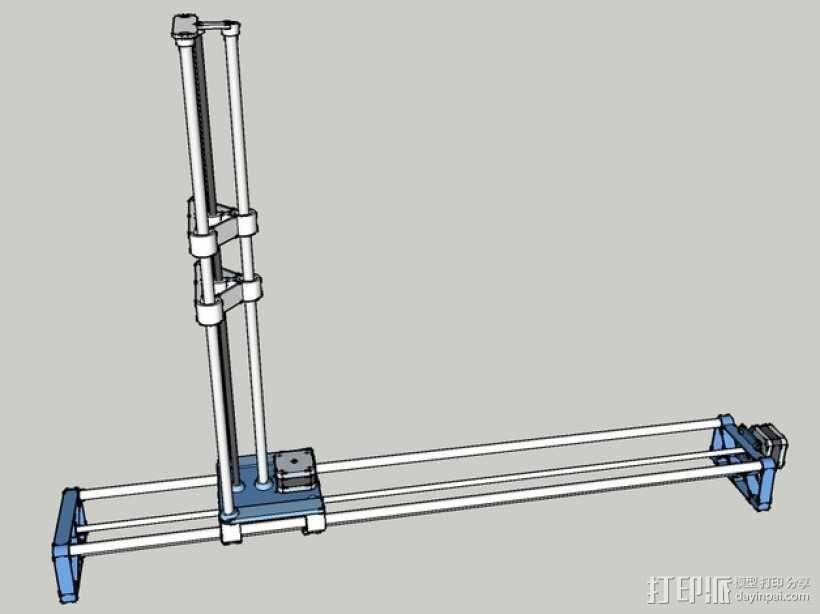 切割机 3D模型  图1