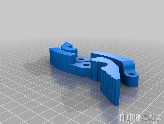 老虎钳 3D模型  图4