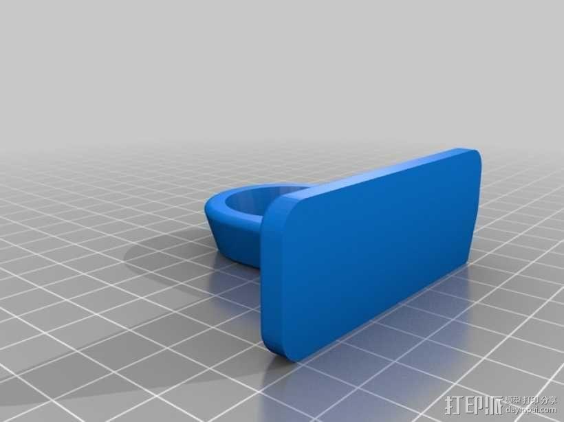 电动雕刻机 收纳架 3D模型  图2